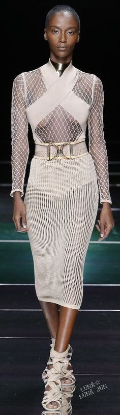 Balmain Spring 2016 women fashion outfit clothing style apparel @roressclothes closet ideas
