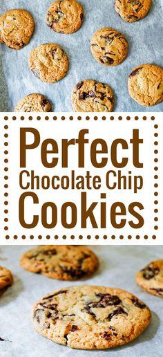 La recette ultime des cookies aux pépites de chocolat, avec les secrets qui permettent d'avoir un goût et une texture parfaits.
