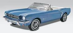 1964 Mustang Convertible - I will always remember riding with Doc Springhorn in his new mustang. He even let me drive it!  At 15 this was absolutely awesome.  I would love to own one!