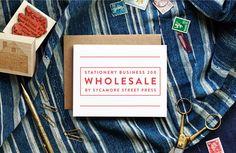 Stationery Biz 200: Wholesale | | By Sycamore Street Press :: http://sycamorestreetpress.com