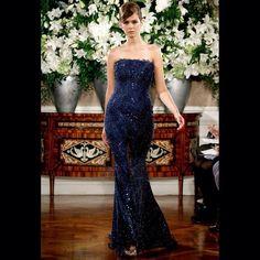 All Blue Sequins