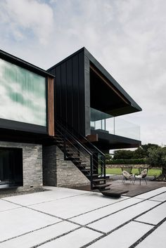 Architecture in black