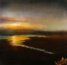 "Saatchi Online Artist Maurice Sapiro; Painting, ""Inlet"" #art"