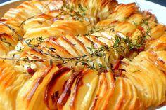 Τραγανές πατάτες στον φούρνο
