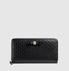 263a43630586 Gucci - bow microguccissima leather zip around wallet 388680BMJ1G1000 Gucci,  Luxury Fashion, Bows,
