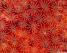 eQuilter Northwoods Metallic - Sun Star Batik - Cinnamon/Gold - but hot colors are drawing me in ...