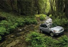Subaru Outback, love my Outback. I may get lost but I will not get stuck.