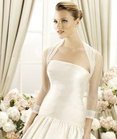 Lovely Tulle Bridal Jacket/Bridal Wrap-Dressfame.com