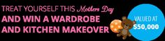 Hey there,I just entered to Win a Wardrobe and Kitchen makeover valued at $50,000You can Enter too here - Baby Photos, Mothers, Competition, Things I Want, Join, Sayings, Friends, Kitchen, Kids