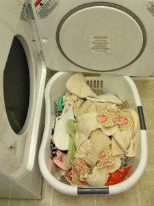 cloth diaper washing routine