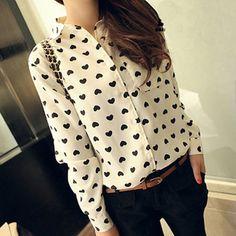 $20.00   Fashion Vintage Chiffon Shirt  AB830BJ