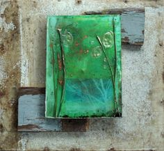 Spring is finally hereOriginal Mixed Media Art by SalvagedMagic, $375.00