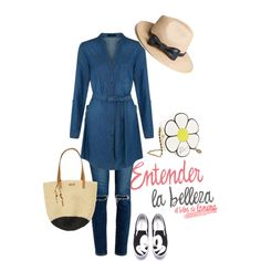 Look Denim vestido b