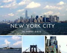 The city, home to over 8.5 million people, contains so much to see and do. We only had 3 days to explore the city so we spent every waking moment wandering around the streets of Manhattan. Here is a list of the must do's of my favorite places.