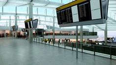 Airport design: The new Terminal 2 at Heathrow airport, designed by Norman Foster