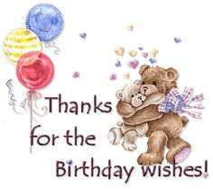 Want to send birthday thank you wishes to your friends and dears thanks guys for birthday wishes 27022013 m4hsunfo