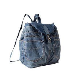 GAP Recycled 1969 denim backpack