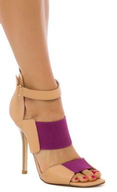 purple + nude