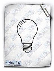 Lightbulb free digital stamp