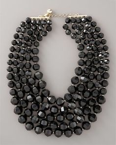 Bib necklace. I could so do this