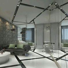 Elegante #diseño de #interiores con múltiples detalles. Destacan diseño de…