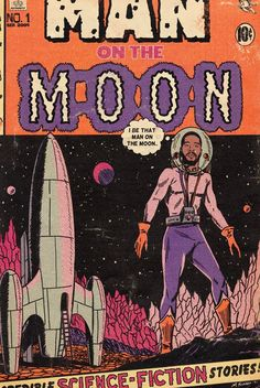 Comic Poster, Comic Art, Comic Book, Kid Cudi Poster, Hip Hop Art, Man On The Moon, Cool Posters, Music Posters, Vintage Posters