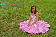 Peppermint Swirl Ladies Add-On PDF Sewing Pattern - Women twirl dress