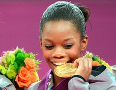 How Marketable is Gabby Douglas?   At 16 years old, Gabrielle Douglas, in winning gold in both the team and individual all around competitions, has made her mark on history. Not only the first American gymnast to win gold in both competitions, she is also the first African-American woman to be the all around individual champion. (8/9/12)