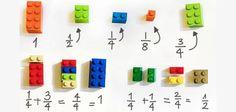 Como ensinar matemática com peças de Lego?