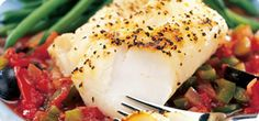 You'll feel as if you're really treating yourself with this special fish dish.