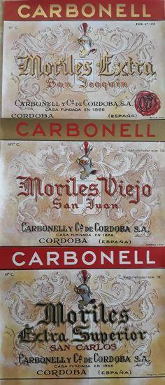 Moriles Viejo San Juan #Morileswine  #VintageWineLabels  #CarbonellyCíadeCordoba #BodegasTomasGarcía #vinicoladelsur  #historywine #centuryoldwineries #montillamoriles  #VintageSpanishWineLabel #Theartofwine #winelovers Wine Lovers, Spanish Wine, Vintage Wine, Wine Label, Saints, San Carlos