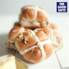 Hot Cross Buns! How do you like yours? Toasted, Microwaved, Oven-warmed or Fresh? #TheGoodGuys #Easter