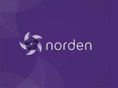 Norden logo design by Alex Tass