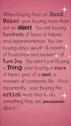 Craft quotes creativity inspiration etsy Ideas for 2019 Quilting Quotes, Sewing Quotes, Craft Quotes, Creativity Quotes, Jewelry Quotes, Craft Business, Baking Business, Business Quotes, Craft Fairs