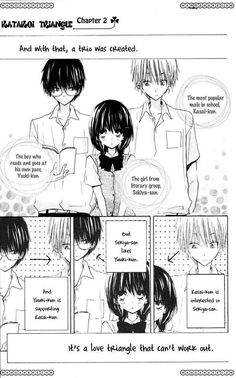 Katakoi Triangle 2 - Read Katakoi Triangle vol.1 ch.2 Online For Free - Stream 1 Edition 1 Page All - MangaPark