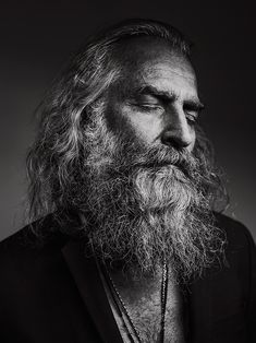 Photo by Stephan Vanfleteren, a Belgian photographer at the exhibition 'Present' at FOMU Antwerp BE Nude Photography, Fine Art Photography, Street Photography, Alexey Brodovitch, Julia Margaret Cameron, Photo Awards, Long Beards, Black And White Portraits, Lee Jeffries