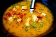 Croatian Recipes, Hungarian Recipes, Soup Recipes, Cooking Recipes, Food 52, No Cook Meals, Soups And Stews, Chowder, Food Porn
