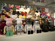 Dudebox in Berlin - Art & Toys collection - Be@rbricks