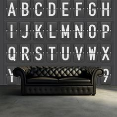 Hey, look at this wallpaper from Rebel Walls, Departure Alphabet! #rebelwalls #wallpaper #wallmurals