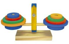 Balancinha em madeira - Jott Play