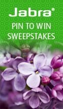 Jabra Pin to Win Sweepstakes. WIN $500 and a Jabra FREEWAY!