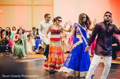 Sangeet's choreography. http://www.maharaniweddings.com/gallery/photo/94089