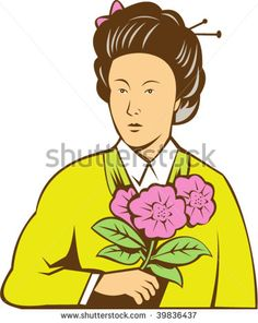 Find Illustration Japanese Woman Kimono Holding Flowers stock images in HD and millions of other royalty-free stock photos, illustrations and vectors in the Shutterstock collection. Holding Flowers, Free Illustrations, Flower Photos, Birds In Flight, Retro Illustration, Royalty Free Stock Photos, Kimono, Japanese, Woman