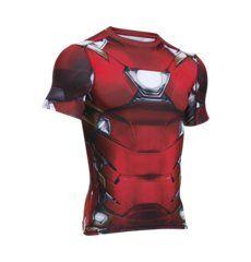 Men's Under Armour® Alter Ego Iron Man Compression Shirt