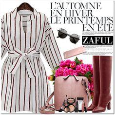 Zaful by oshint on Polyvore featuring moda, Diane Von Furstenberg, Laura Geller, New Growth Designs, Été Swim and zaful