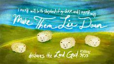 Verse of the Day from Logos.com Ezekiel 34:15