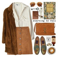 suede a-line skirt by jesuisunlapin on Polyvore featuring polyvore fashion style To Be Adored Soaked in Luxury Yves Saint Laurent Nordstrom Gianfranco Ferré Louis Vuitton Astier de Villatte Pier 1 Imports vintage clothing