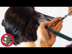 How To Cut Graduated Bob Haircut Step By Step From Matt Beck (Classic Graduation). Great step-by-step. Haircuts For Long Hair, Layered Haircuts, Long Hair Cuts, How To Cut Your Own Hair, Cut My Hair, Graduated Bob Hairstyles, Diy Haircut, Haircut Bob, Pixie Cuts