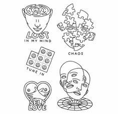 Cute Tiny Tattoos, Dream Tattoos, Little Tattoos, Pretty Tattoos, Mini Tattoos, Future Tattoos, New Tattoos, Small Tattoos, Cool Tattoos