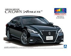 Charmant TOYOTA GRS214/AWS210 CROWN ATHLETEu002715 (PRECIOUS BLACK PEARL)|AOSHIMA|